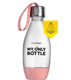 DWS Flaske til Sodastream. My Only Bottle . 0,5 liter. Pink Blush