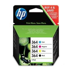 No364 black/color ink cartridge sampack til HP