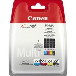 CLI-551 c,m,y,bk multi-pack, ink cartridge
