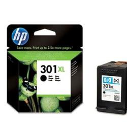 HP 301 XL Sort blækpatron. Black ink cartridge HP301XL