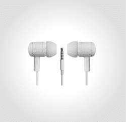 Speak'n Go In-Ear høretelefoner. Hvid