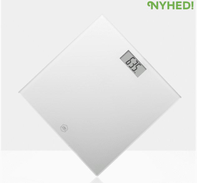 Køb Badevægt Personal Scale Classic Light White. OBH EN1131N0 - 199,95 DKK