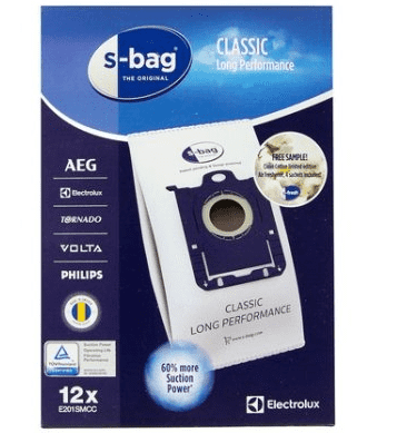 Electrolux Classic S-Bag Long Performance E201SMCC