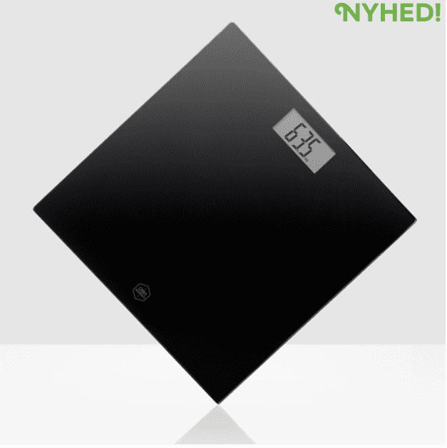 Køb Badevægt Personal Scale Classic Light Black. OBH EN1135N0 - 149,95 DKK