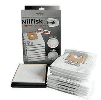 Nilfisk Power Starter Kit. 8 poser, HEPA Filter, 2 pre filtre.