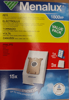 Electrolux Value Pack Støvsugerposer. Menalux 1800VP